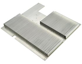 Folded Fin Heat Sinks